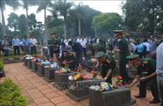 Repatrían restos de 16 combatientes voluntarios vietnamitas caídos en Camboya