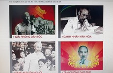 Celebran exposición de libros en línea por natalicio del Presidente Ho Chi Minh