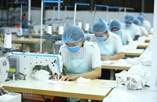 Exportación de mascarillas, salvavidas del sector textil de Vietnam
