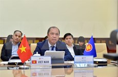 Vietnam participa en reunión en línea de altos funcionarios de ASEAN