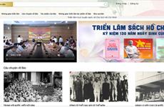 Efectúan exposición de libros en línea sobre el Presidente Ho Chi Minh