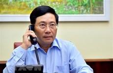 Cancilleres de Vietnam e Italia mantienen conversaciones telefónicas