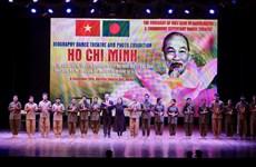 Presidente Ho Chi Minh es muy admirado por el pueblo de Bangladesh, según artista