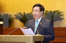Estudia Parlamento de Vietnam Ley sobre Acuerdos Internacionales