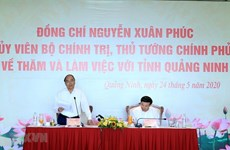 Primer Ministro Nguyen Xuan Phuc avala desarrollo de Quang Ninh