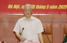 Preparan documentos para XI asamblea partidista del Ejército de Vietnam