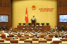 Prosigue Asamblea Nacional de Vietnam debates sobre enmiendas de leyes