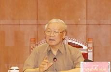 Líder partidista de Vietnam destaca necesidad de reforzar la lucha anticorrupción