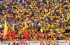 Regreso de fútbol vietnamita con público en las gradas sorprende a medios internacionales