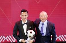 Mediocampista Do Hung Dung gana el Balón de Oro de Vietnam 2019