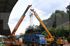 Varias puertas limítrofes auxiliares entre Vietnam y China se mantienen cerradas