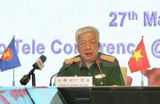 Organizan teleconferencia entre cuerpo médico militar de la ASEAN en respuesta al COVID-19