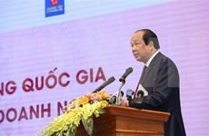 Abordan dificultades de empresas vietnamitas y medidas para promover la producción y los negocios