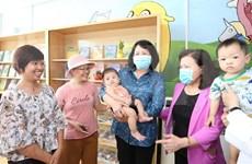 Vicepresidenta de Vietnam visita a niños con cáncer en Hospital K