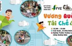 Celebran en Ciudadela Imperial de Thang Long actividad de recreo a niños