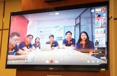 Presentan plataforma de conferencia desarrollada por ingenieros vietnamitas