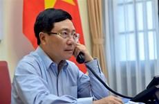 Vietnam y Japón dialogan sobre lucha antiepidémica e impulso de cooperación económica