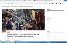 Medio alemán destaca éxito de Vietnam ante la pandemia del COVID-19