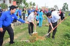 Juventud de Hanoi responde activamente a iniciativa del Domingo Verde
