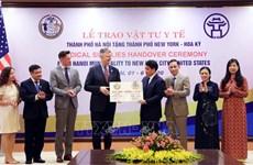Apoya Hanoi a Nueva York en lucha antipandémica