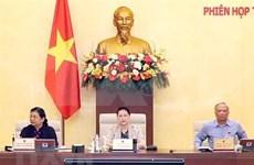 Clausuran reunión 45 del Comité Permanente del Parlamento de Vietnam