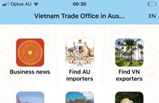 Lanzan aplicación para conectar empresas de Vietnam y Australia