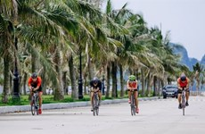 Atletas competirán en torneo de Triatlón Tuan Chau Sunset Bay en agosto en Vietnam