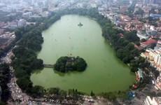 Lanzan concurso de diseño de la obra de Kilómetro 0 en lago Hoan Kiem de Hanoi