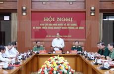 Progreso de industria militar es responsabilidad de todo el pueblo, afirma premier vietnamita
