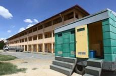 Camboya convierte escuela secundaria en centro de salud para viajeros entrantes