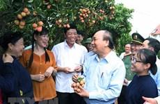 Premier vietnamita insta a Bac Giang a seguir modelo de crecimiento intensivo