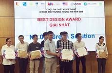 Finalizado concurso de diseño técnico sobre medio ambiente