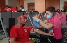 Honran a donantes de sangre en Ciudad Ho Chi Minh