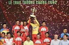 Concluye en Vietnam torneo nacional de ciclismo 2020