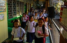 Filipinas no reabrirá escuelas hasta tener vacuna del virus SARS-CoV-2