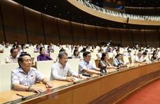 Parlamento de Vietnam continúa debates sobre proyectos de ley