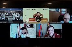 Médicos militares de Vietnam y Rusia intercambian experiencias en prevención y control del COVID-19