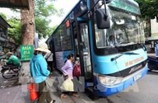 Hanoi planea abrir 30 nuevas rutas de autobuses este año