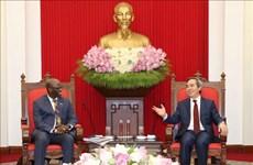 Propone Vietnam apoyo del BM en a recuperación económica pospandémica