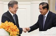 Corea del Sur y Camboya impulsan la firma de tratado de libre comercio