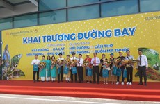 Vietnam Airlines inaugura siete rutas domésticas