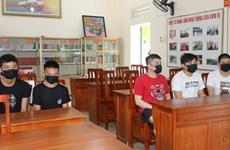 Provincia vietnamita de Quang Ninh detiene a grupo de personas por entrada ilegal