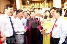 Destaca máxima legisladora de Vietnam contribuciones de periodistas