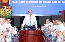 Premier de Vietnam felicita al colectivo de periodistas por Día de la Prensa Revolucionaria