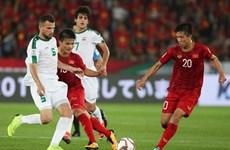 Vietnam recibe invitación de Iraq para disputar amistoso de fútbol