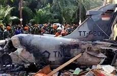 Avión de combate se estrella en Indonesia