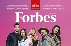 Primera vietnamita en la lista de talentos menores de 30 años de Forbes Eslovaquia
