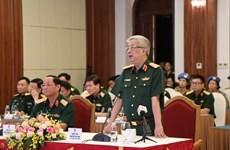 Garantizar la seguridad de fuerzas vietnamitas de paz, prioridad en medio de COVID-19