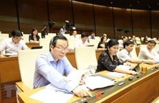 Asamblea Nacional de Vietnam continúa debates sobre importantes proyectos de ley