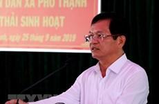 Buró Político del Partido Comunista de Vietnam impone medidas disciplinarias a un alto funcionario